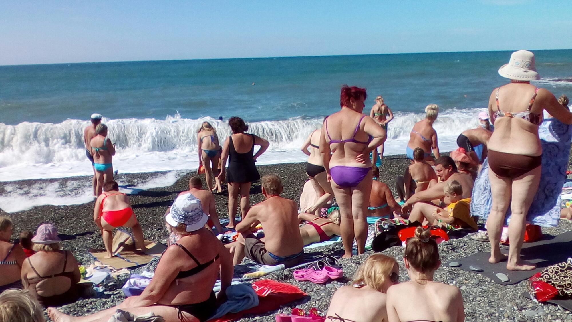 Дагомыс - Нудистский Пляж - Фото